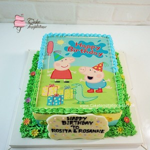Photo Print - Peppa Pig birthday party