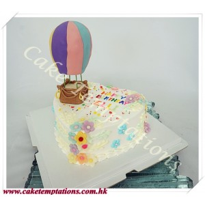 Mini Hot Air Balloons Cake