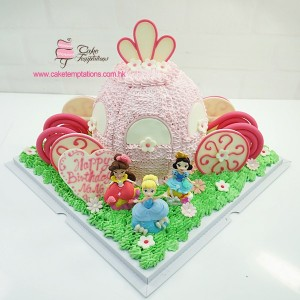 3D Princess Carriage