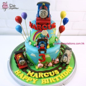 Thomas & Friends 2 Layers Cake