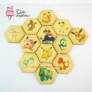 Edible Print Pokemon Cookie