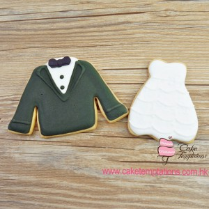 Groom & Bride Cookies