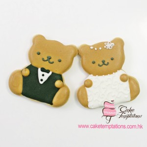 Wedding Bear Cookies