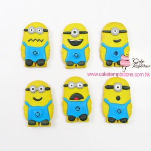 Full body minion cookies