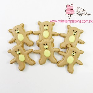 Brown Bear Cookies
