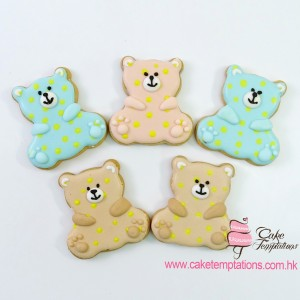Birthday Cookies - Bear