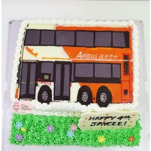 2D Bus Cake - Long Win Airport Bus
