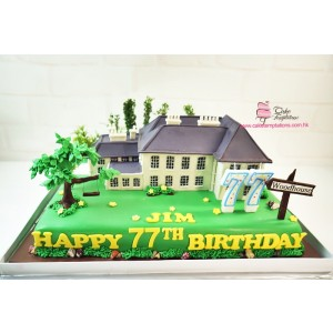 3D Woodhouse cake