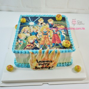 Photo print- Dragon Ball Cake
