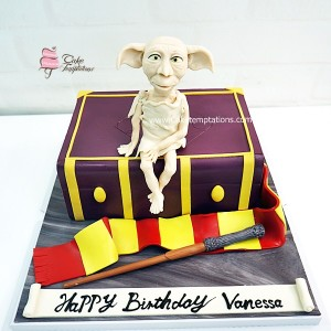 3D Dorby (Harry Potter) Cake