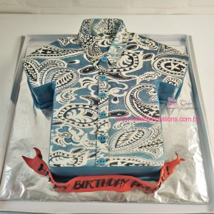 Father t-shirt cake