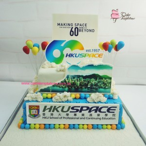 HKU Space 60th Anniversary Cake