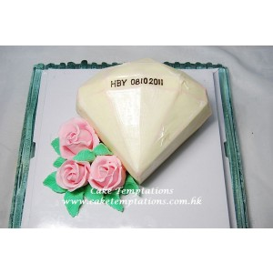 Giant Diamond Cake