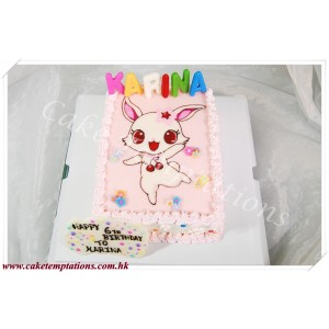 2D Jewelpet Ruby Cake