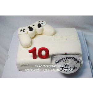 3D PS4 CAKE