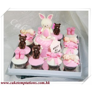 Rabbit Cupcake Set