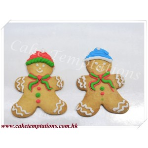 X'mas Gingerbread Cookies
