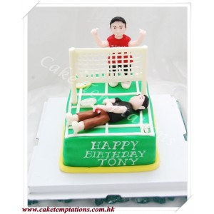 Sure Win Badminton Cake