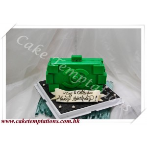 3D Chanel Lego Clutch Cake