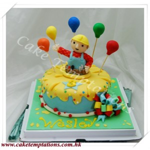 Bob Builder Birthday Cake