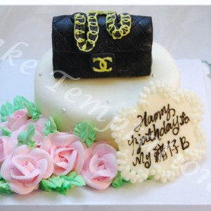 Mini Chanel Bag Cake
