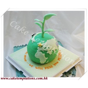 3D Earth Cake