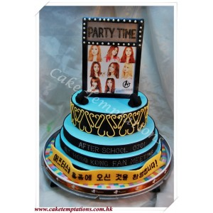 After School-Party Time Celebration Cake