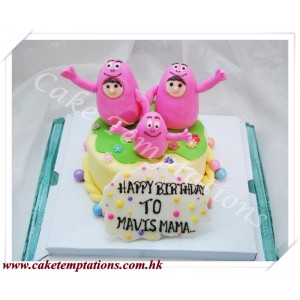 Cartoon Baby Cake