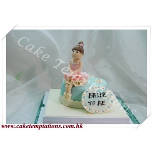 A Ballet Dance Birthday Cake