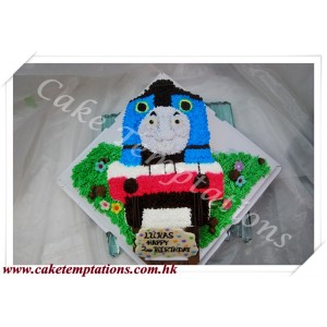 2D Thomas Birthday Cake