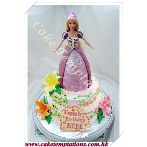 2 Layers Princess Cake