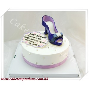 Little Ferragamo Shoes Cake