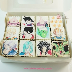 Dragon Ball Photo Print Cupcake
