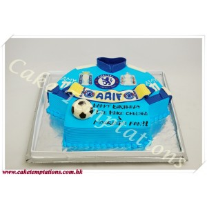 Chelsea double winners birthday cake