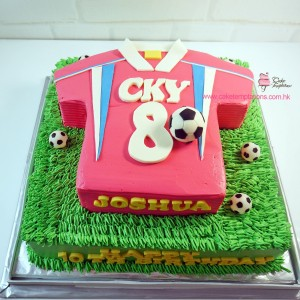 School football shirt  cake