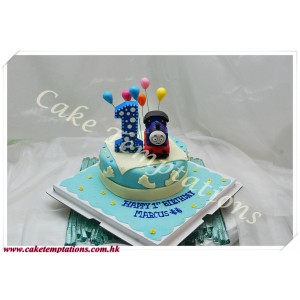 Thomas 1st Birthday Cake