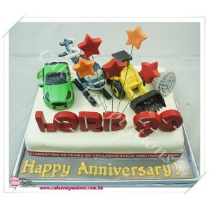 Lord 90 Celebrations Cake