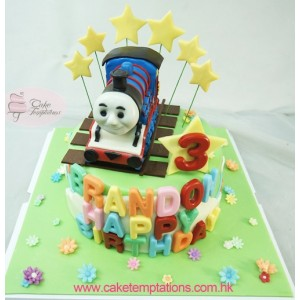 Happy Thomas Celebrations Cake