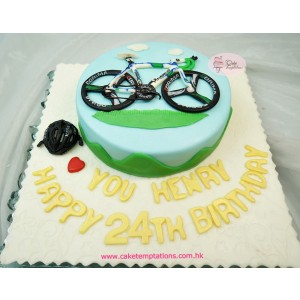 Triathlon Bike Cake