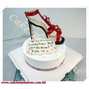 High Heel Shoes Cake