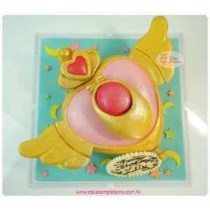 Sailor Moon transformation machine Cake