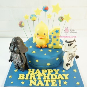 Star Wars with Yellow Duck Cake