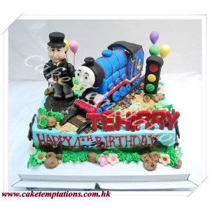 Big Gordon Train Cake