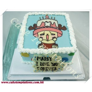 Tony Tony Chopper Cake