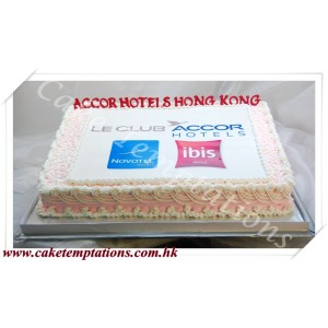 Le Club Accorhotels 5th Anniversary Cake