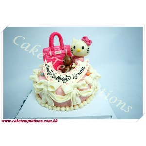 Mini Hermes Bag W. Hello Kitty Cake