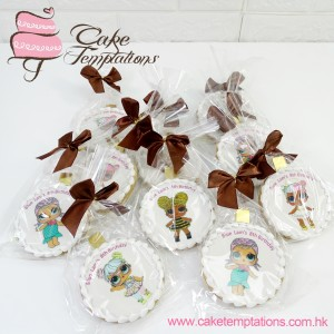 LOL Surprise Doll Photo Cookies
