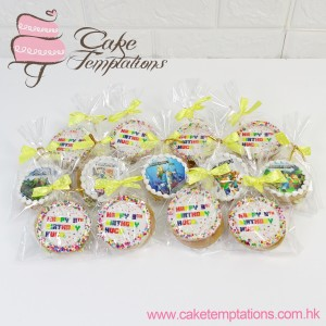 Photo Cookies with Sprinkle