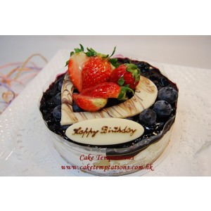 Traditional Blueberry Cheese Cake