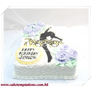 The Dancing Lady Cake